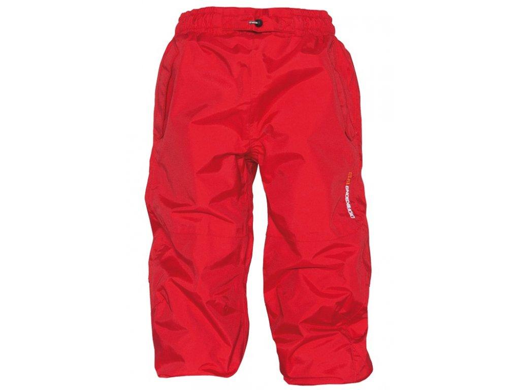 DIDRIKSONS 1913 Dětské nepromokavé kalhoty AOSTA KIDS PANTS - Červené