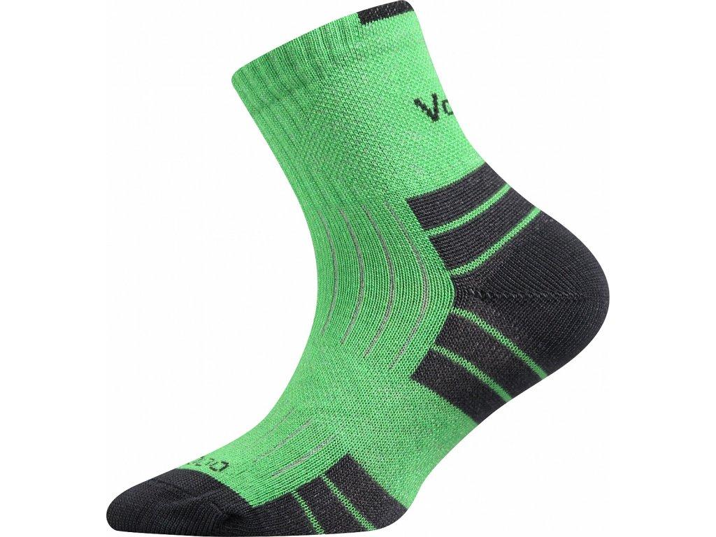 Voxx Belkinik dětské bambusové ponožky zelena