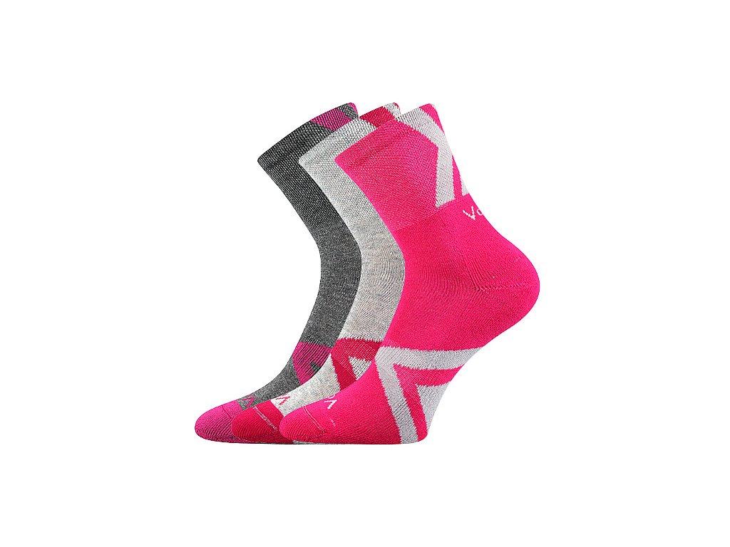Voxx Jeffik dětské sportovní ponožky magenta