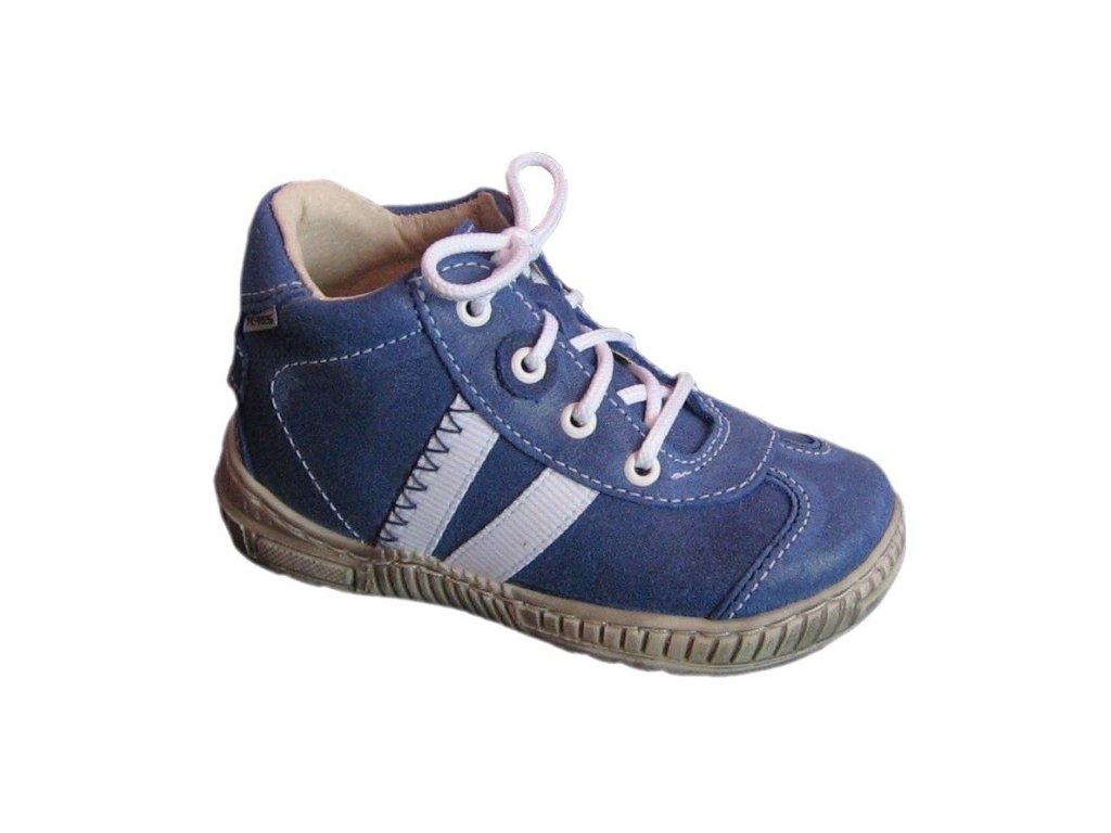 Pegres 1401B modrá dětské celoroční boty