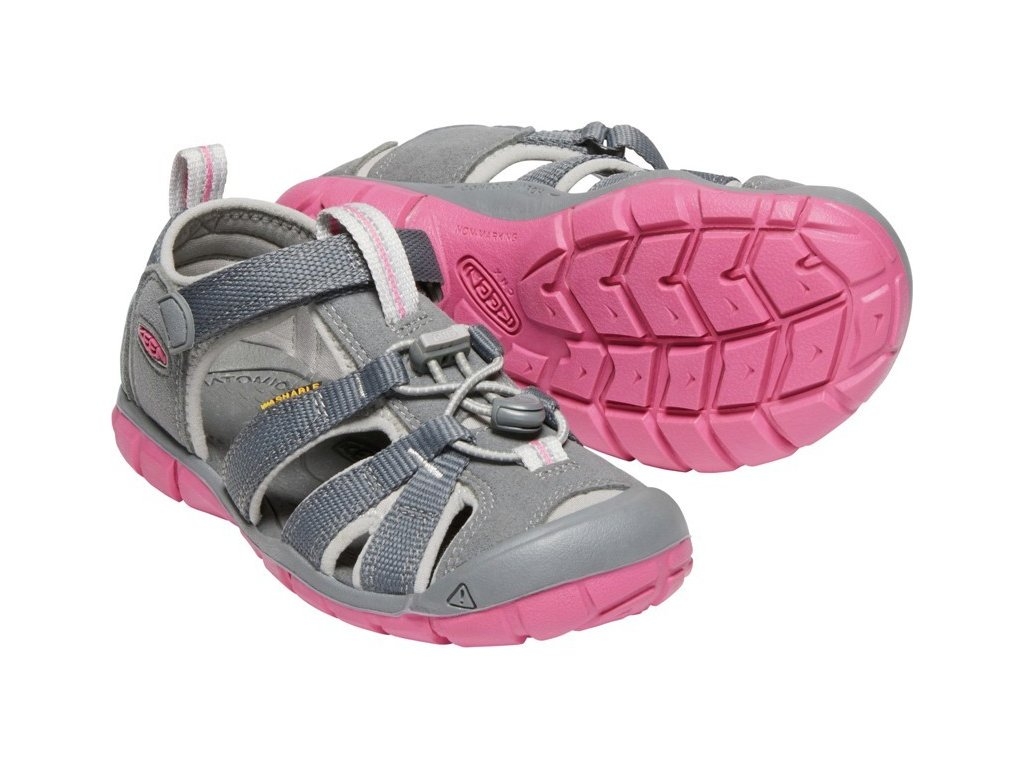 KEEN SEACAMP II CNX children K steel grey/rapture rose