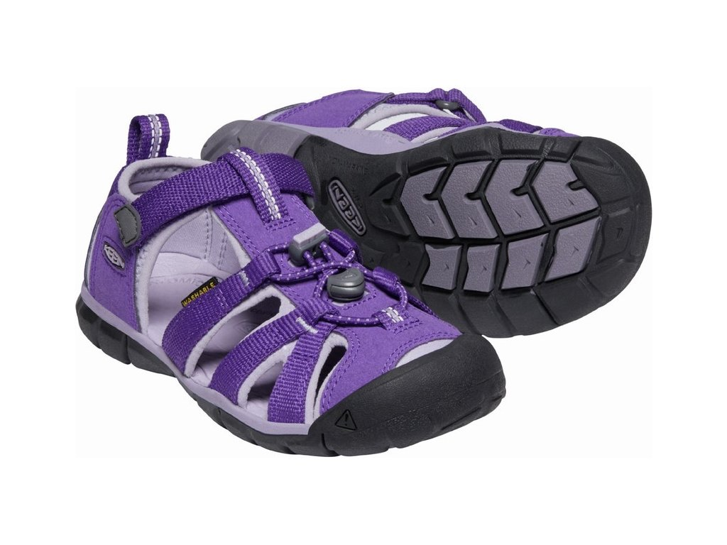 KEEN SEACAMP II CNX children K royal purple/lavender gray