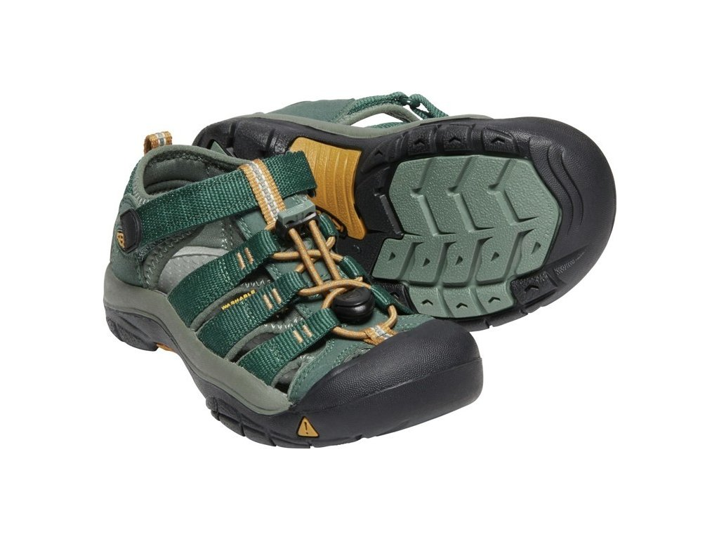 KEEN NEWPORT H2 YOUTH green gables/wood thrush