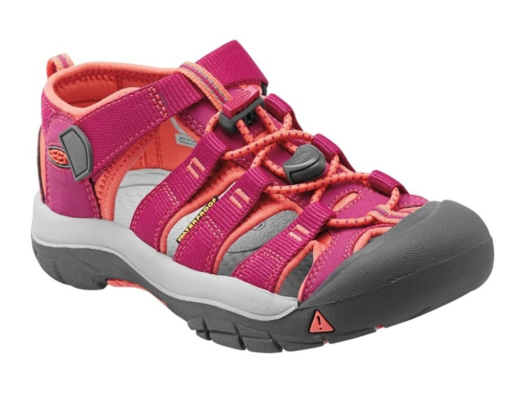 KEEN NEWPORT H2 YOUTH very berry/fusion coral