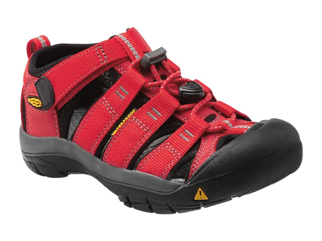 KEEN NEWPORT H2 YOUTH ribbon red/gargoyle