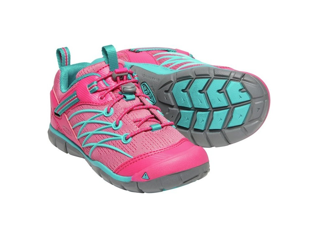 KEEN CHANDLER CNX YOUTH bright pink/lake green