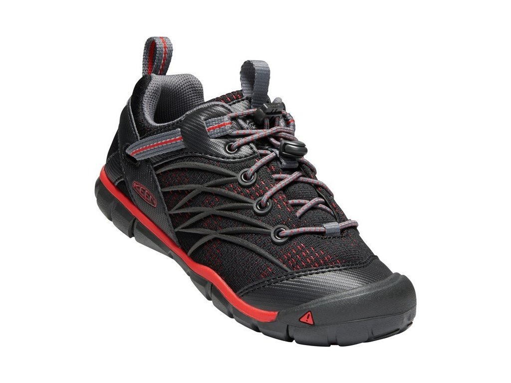 KEEN CHANDLER CNX YOUTH raven/fiery red