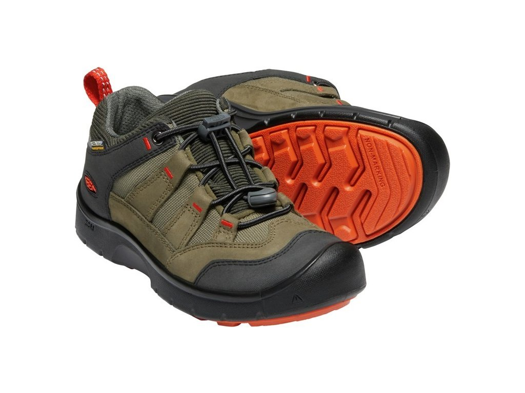 KEEN HIKEPORT WP JR martini olive/pureed pumpkin