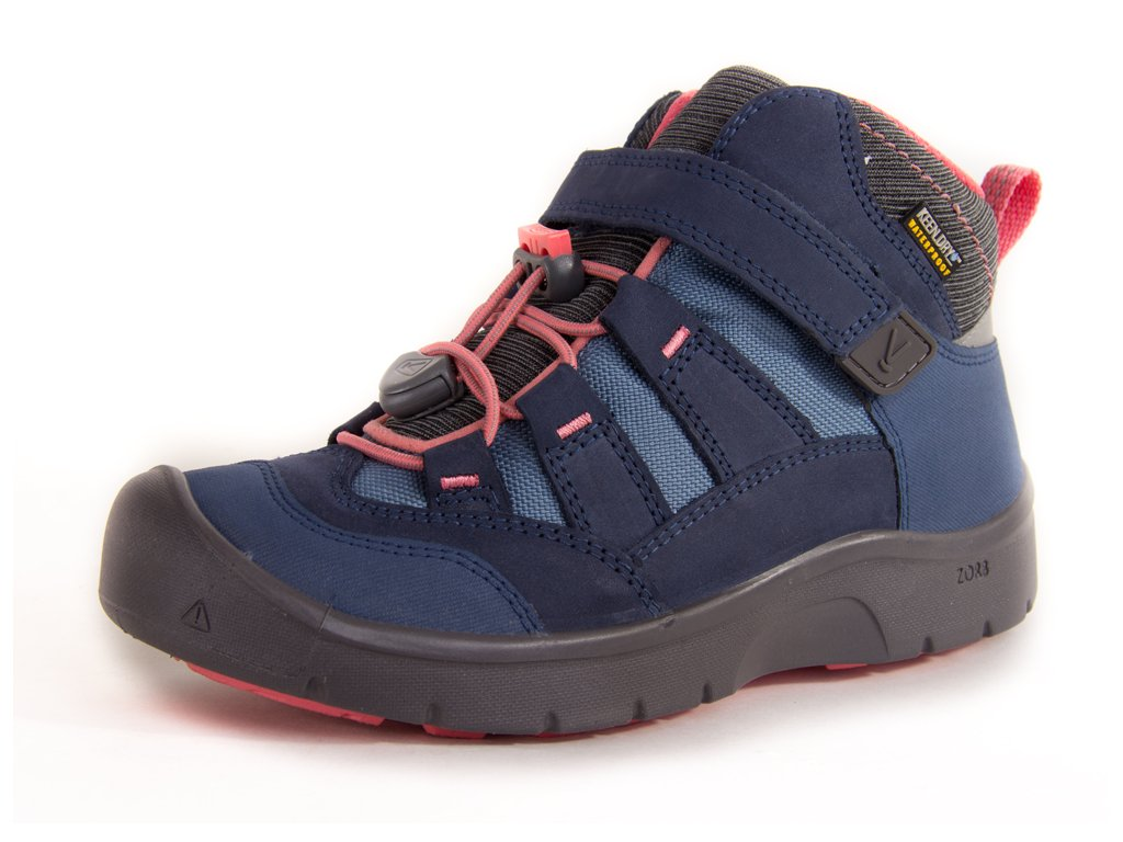 KEEN HIKEPORT MID WP K dress blues/sugar coral