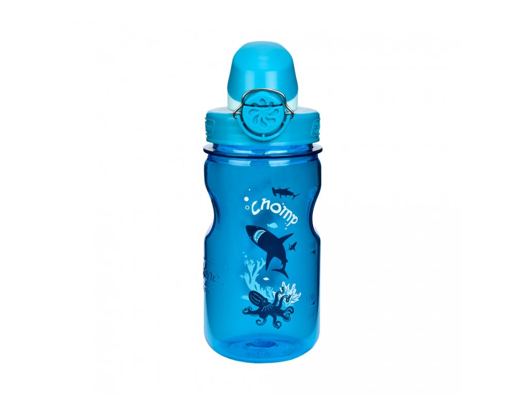 Nalgene CLEAR KIDS OTF 350ml Slate chomp
