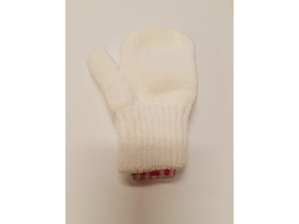 RDX dětské pletené palčáky bílé