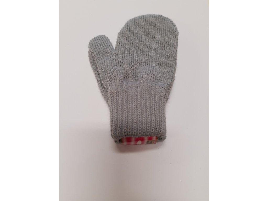 RDX dětské pletené palčáky šedé