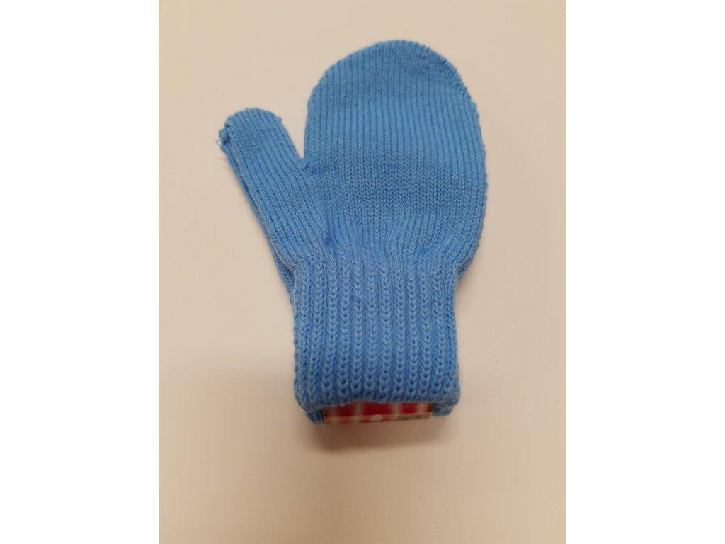 RDX dětské pletené palčáky modré