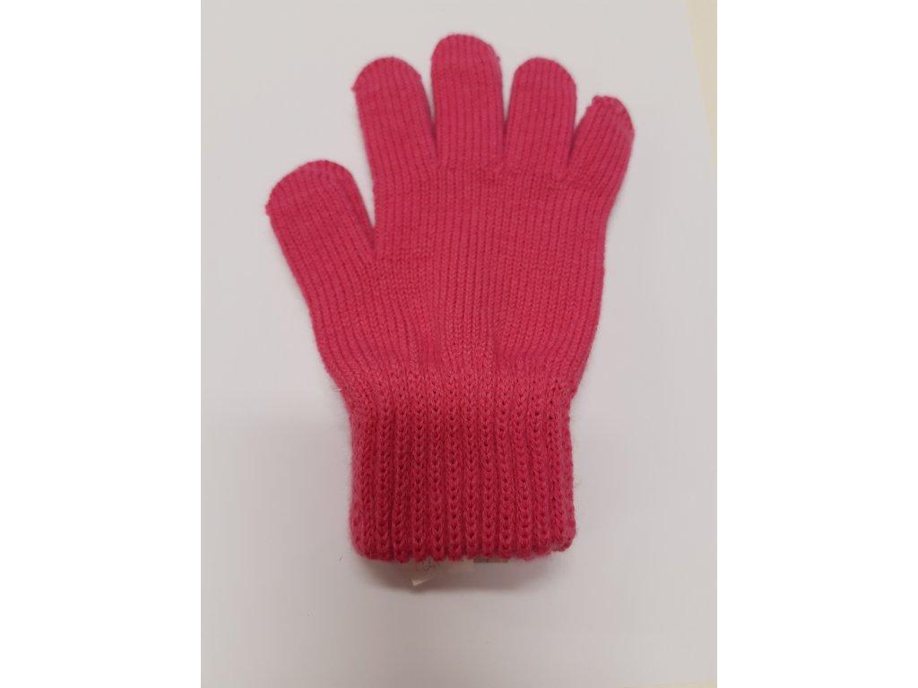 RDX dětské pletené prstové rukavice růžové