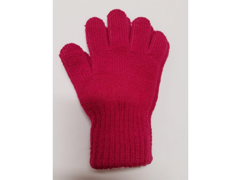 RDX dětské pletené prstové rukavice magenta