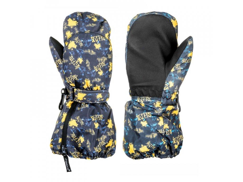 Dětské lyžařské rukavice Relax Puzzyto RR17E palčáky