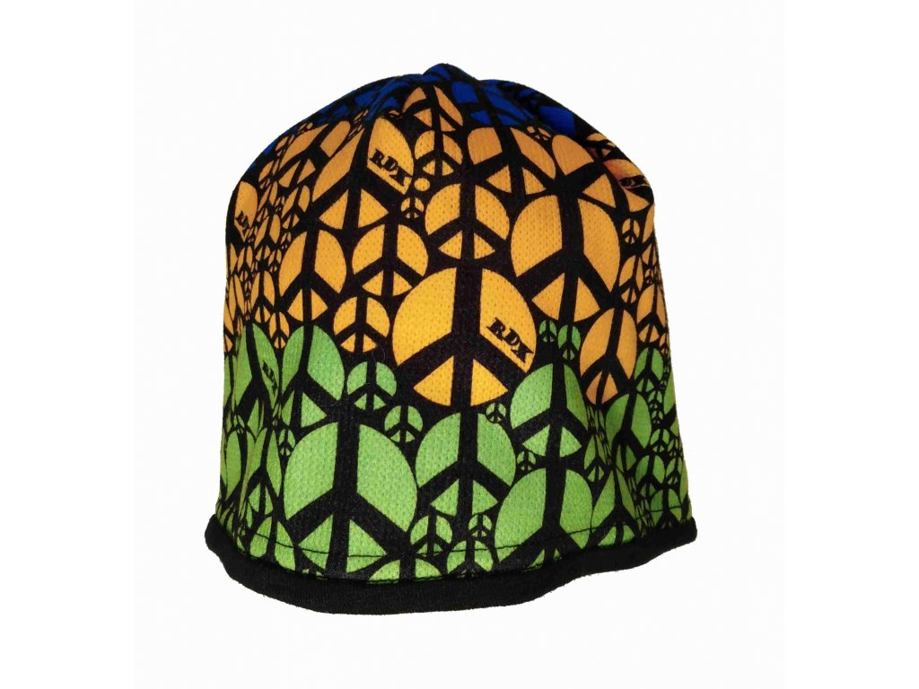RDX zimní pletená čepice Merino 3522 peace