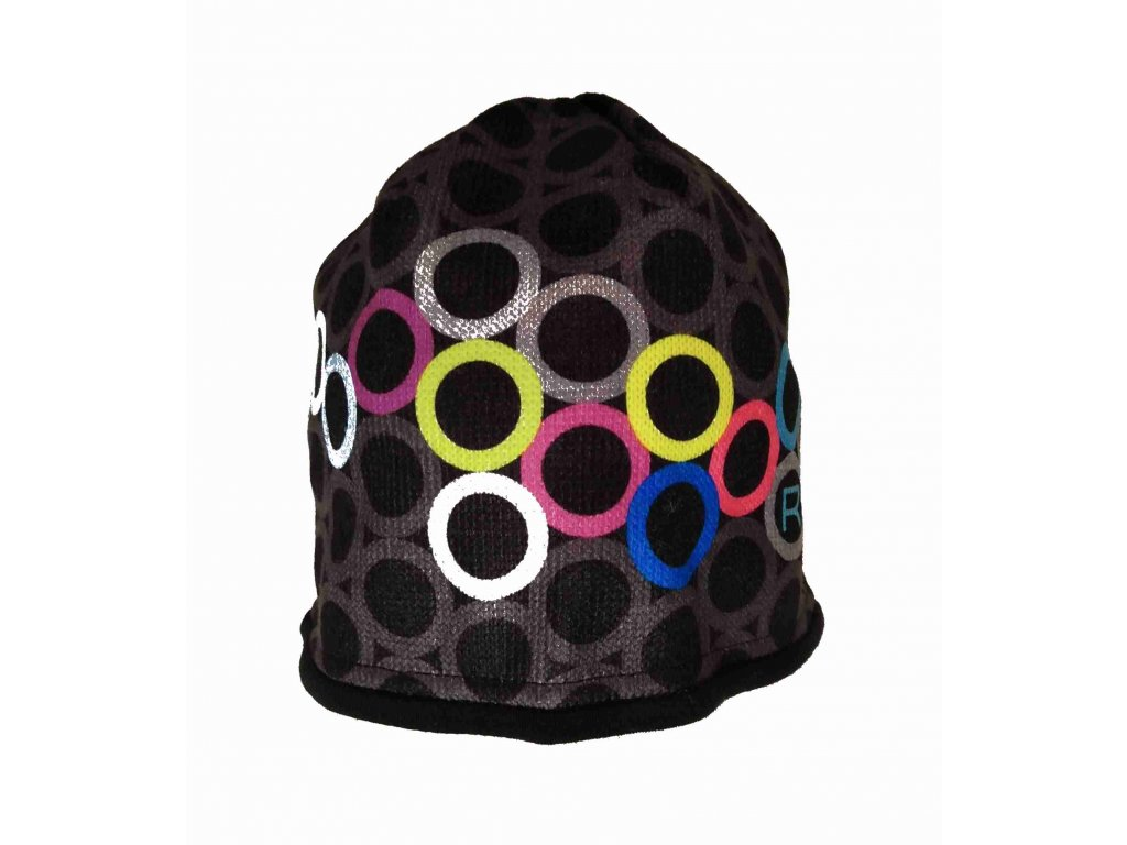 RDX zimní pletená čepice Merino 3572 barevná