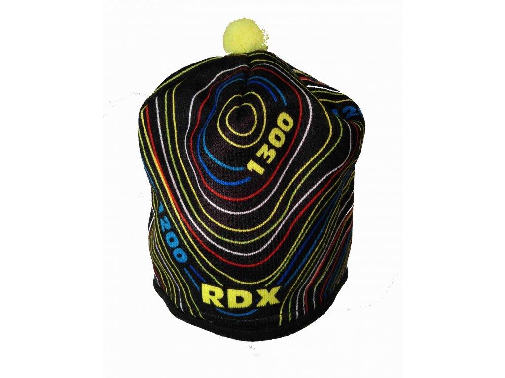 RDX zimní pletená čepice Merino 3574 vrstevnice