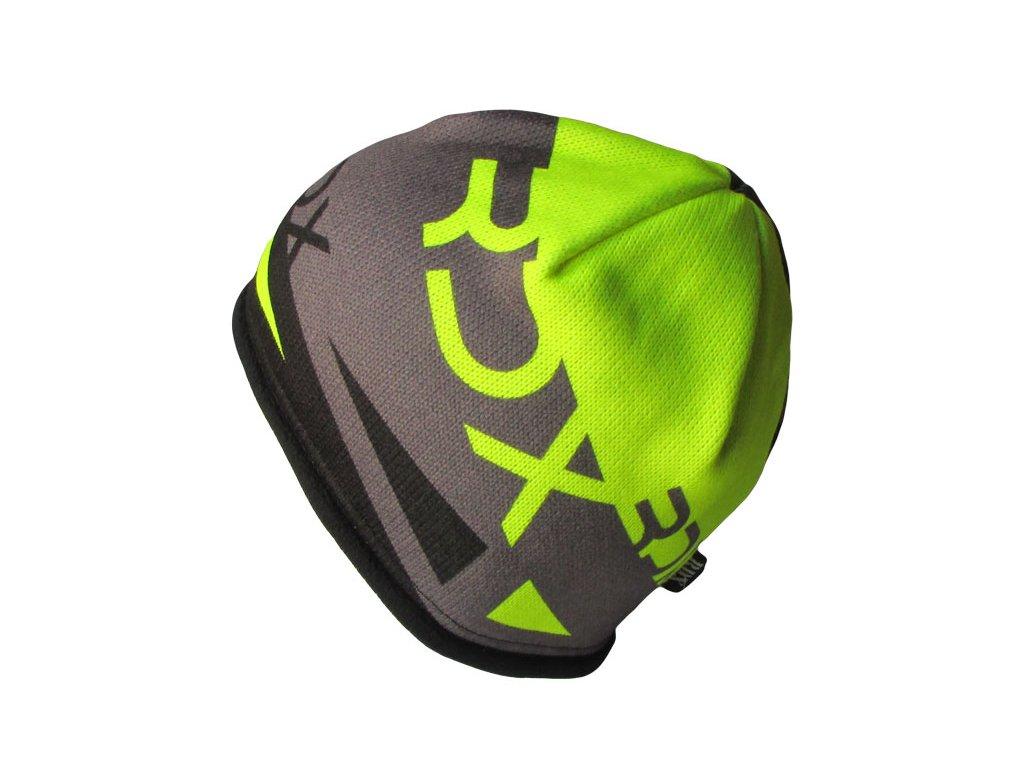 RDX zimní pletená čepice 3663 žlutá