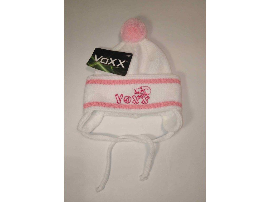 VOXX zimní čepice přes uši s bambulí YARIS