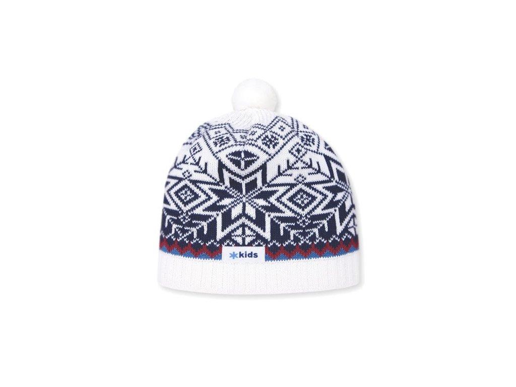 KAMA zimní čepice Merino B55 48-56cm modrá