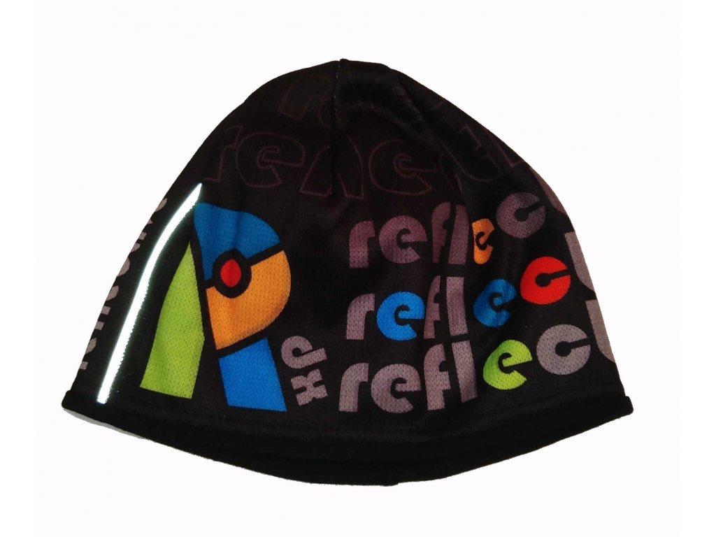 RDX zimní pletená čepice Merino 3861 barevná