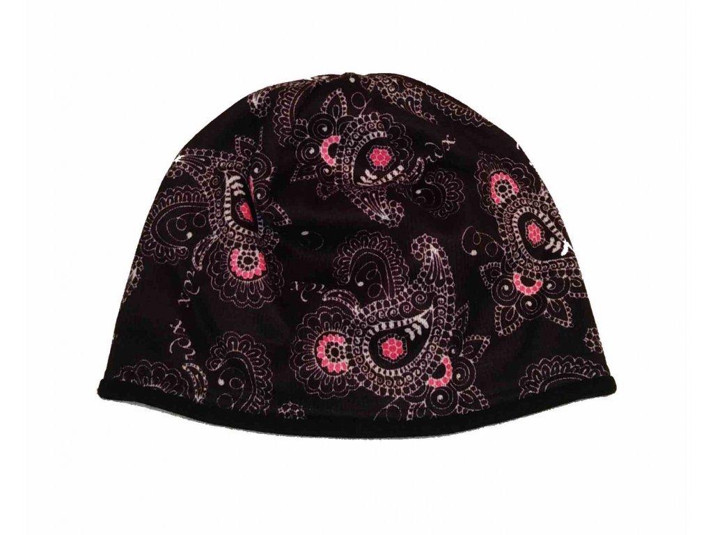 RDX zimní pletená čepice Merino 3546 černá