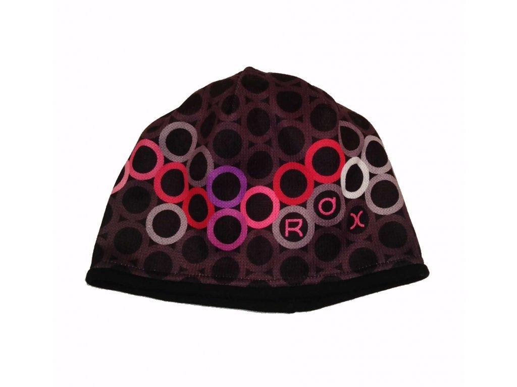 RDX zimní pletená čepice Merino 3572 růžová