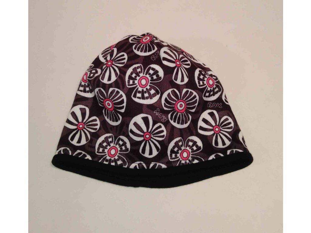 RDX zimní pletená čepice Merino 3575 černá