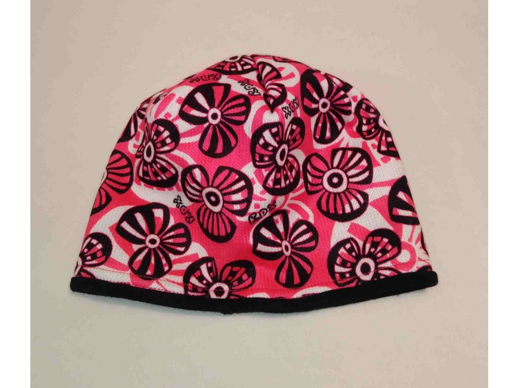 RDX zimní pletená čepice Merino 3575 růžová
