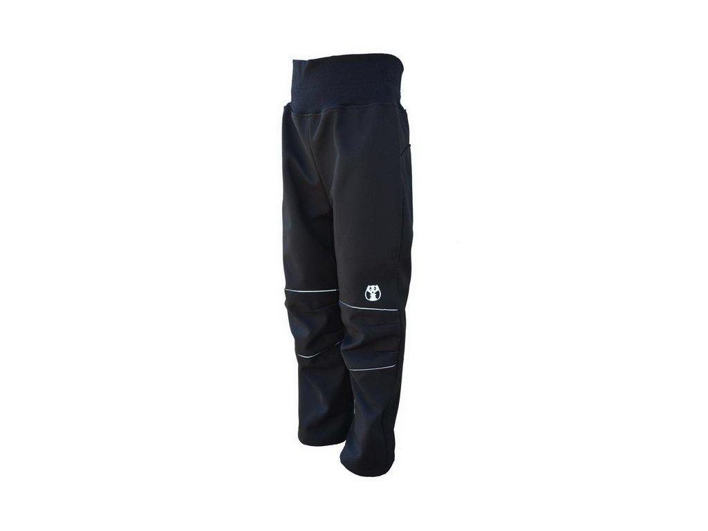 KUAKDLOO softshell kalhoty černo-reflexní