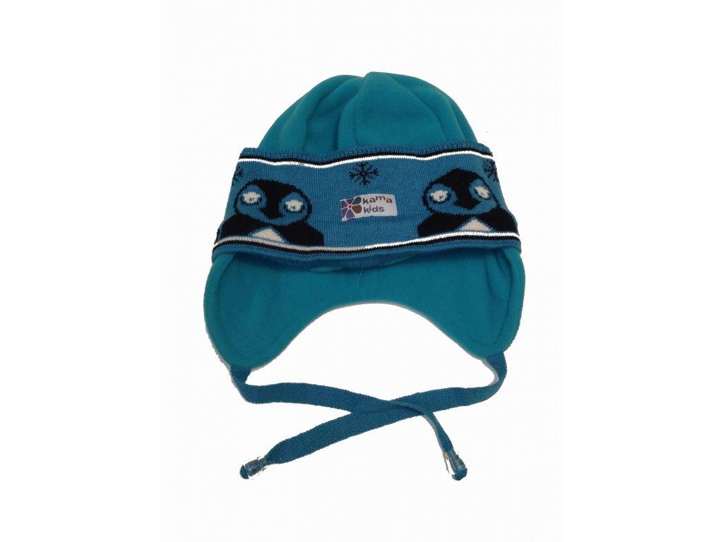 KAMA zimní čepice Merino s fleecem B50 XS