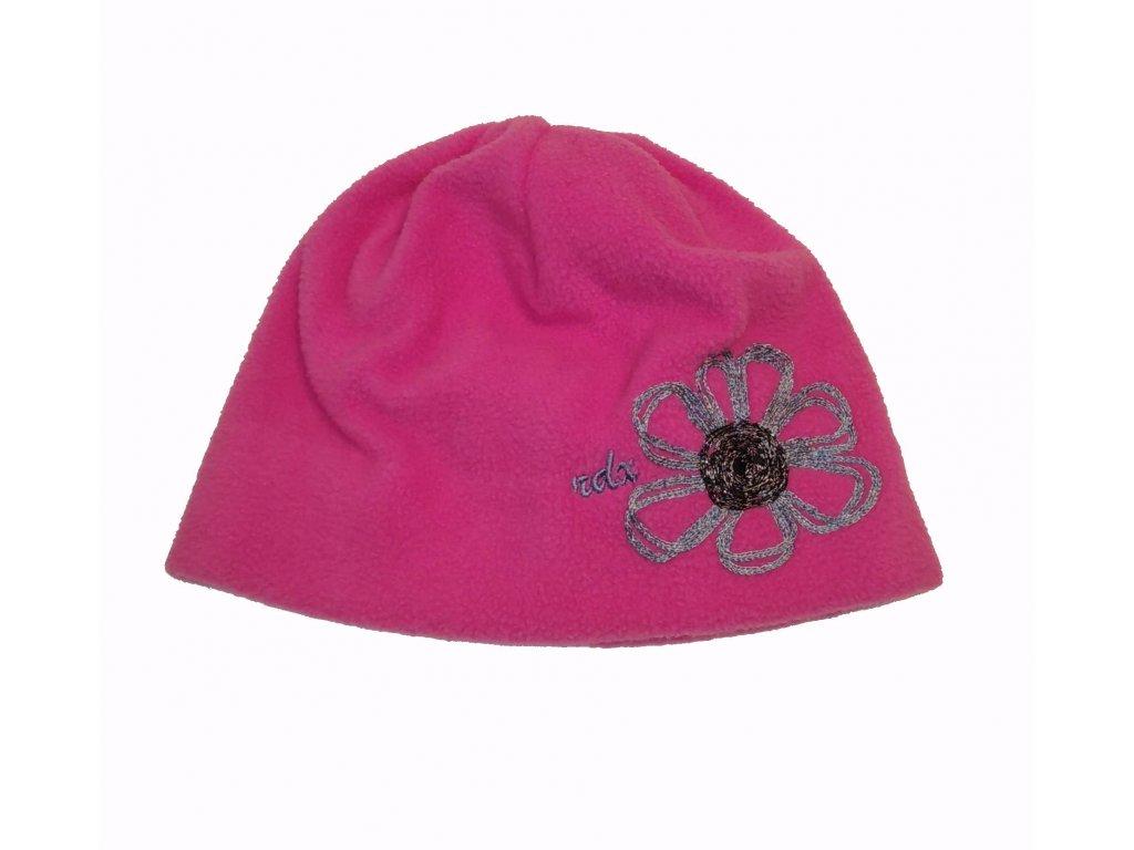 RDX zimní čepice fleece 3453 růžová