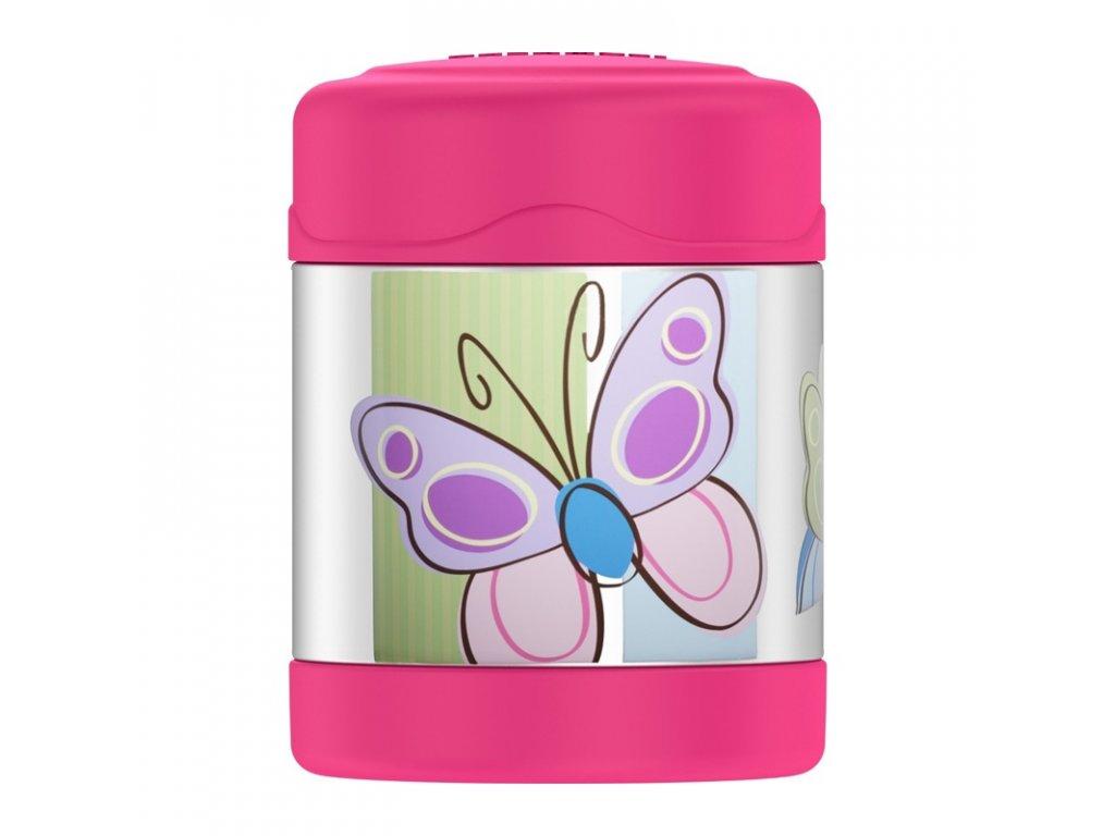 Thermos FUNtainer Dětská termoska na jídlo 290ml - motýl