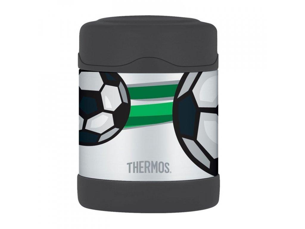 Thermos FUNtainer Dětská termoska na jídlo 290ml - fotbal