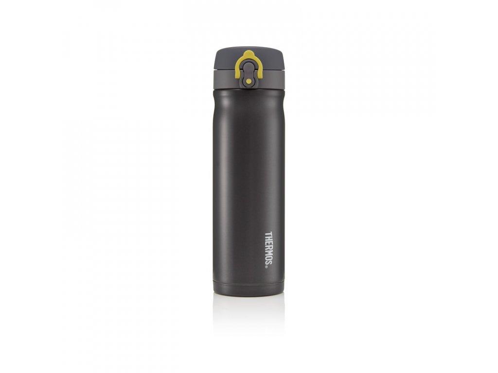 Thermos Motion Mobilní termohrnek 500ml - metalicky šedá