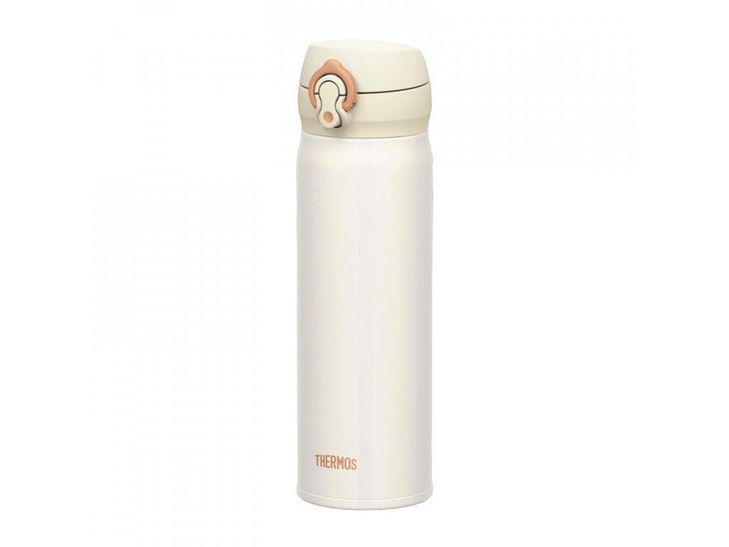 Thermos Motion mobilní termohrnek 500ml - perleťově bílá