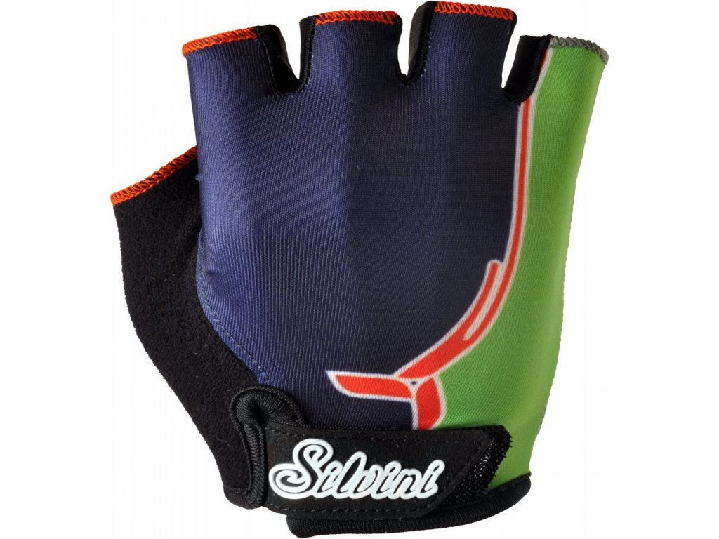 Dětské rukavice SILVINI PUNTA navy green