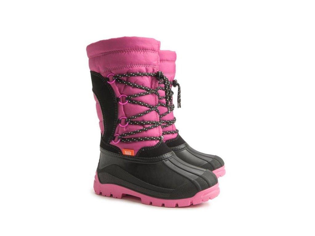 Demar dětské sněhule SAMANTA 1304 pink