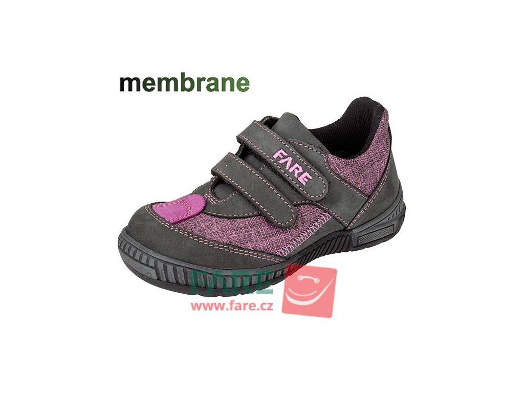 FARE 814291 dětské celoroční nepromokavé boty