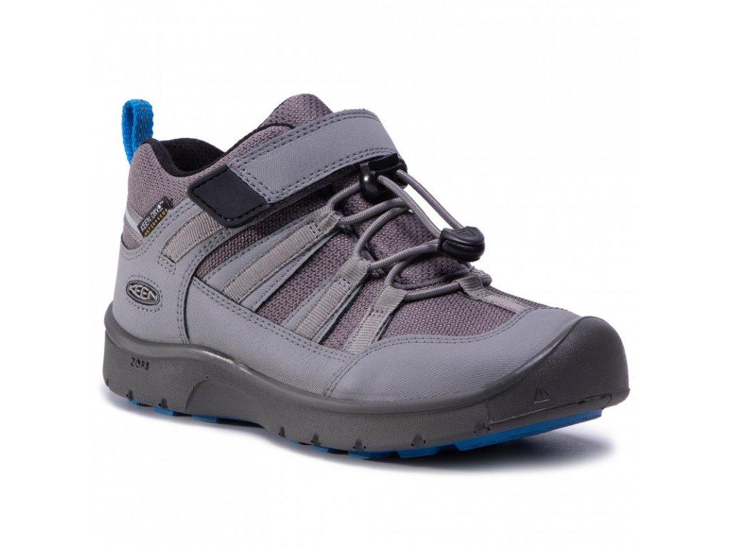KEEN HIKEPORT 2 LOW WP K steel grey/brilliant blue