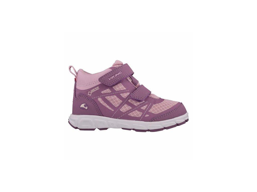Viking Veme MID GTX violet/pink malyturista.cz