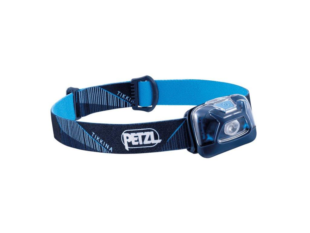 Petzl Tikkina 250 modrá