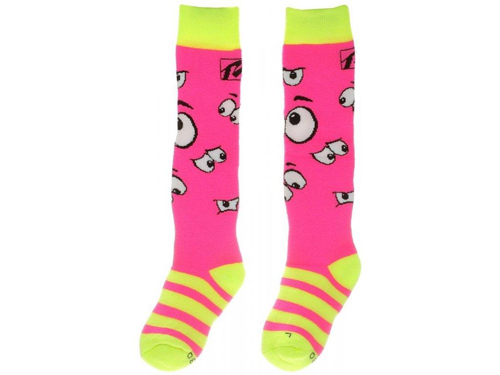 Relax Happy RSO35A ponožky Neon Pink