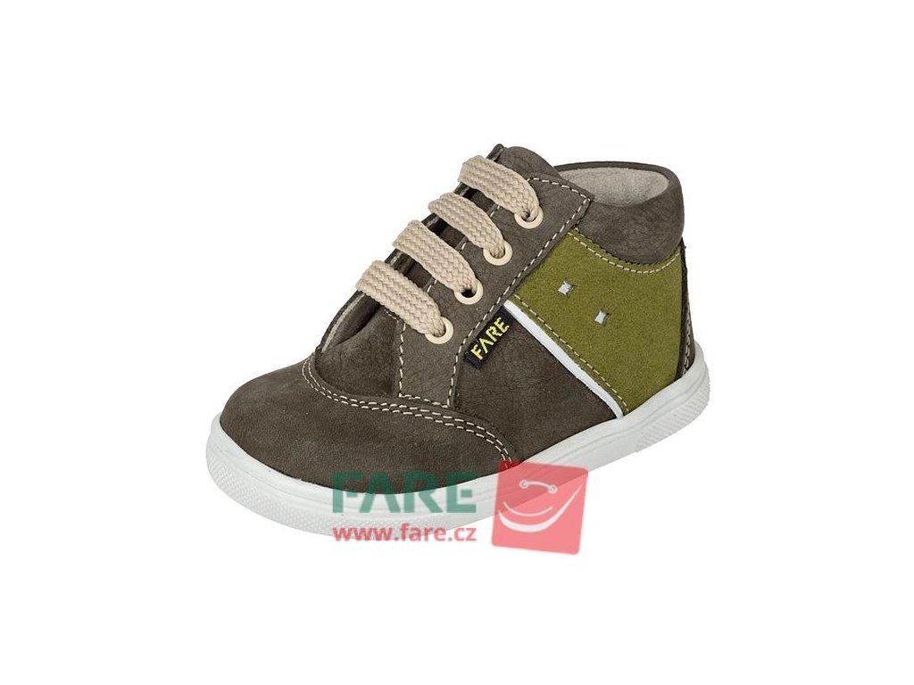 FARE Dětské celoroční boty kotníkové 2121221