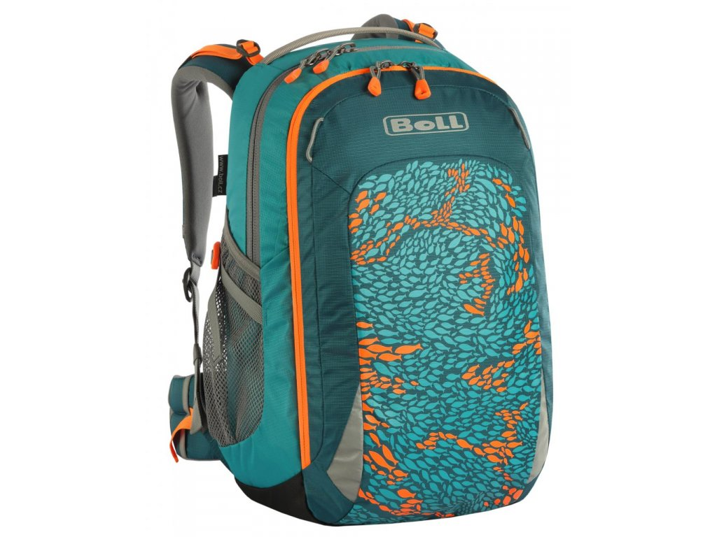 BOLL SMART Artwork Collection Teal Fish 22 l