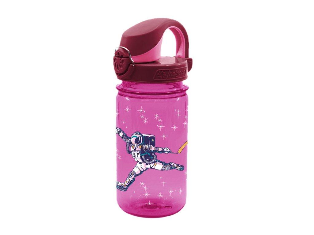 Nalgene CLEAR KIDS OTF 350ml Pink Astronaut