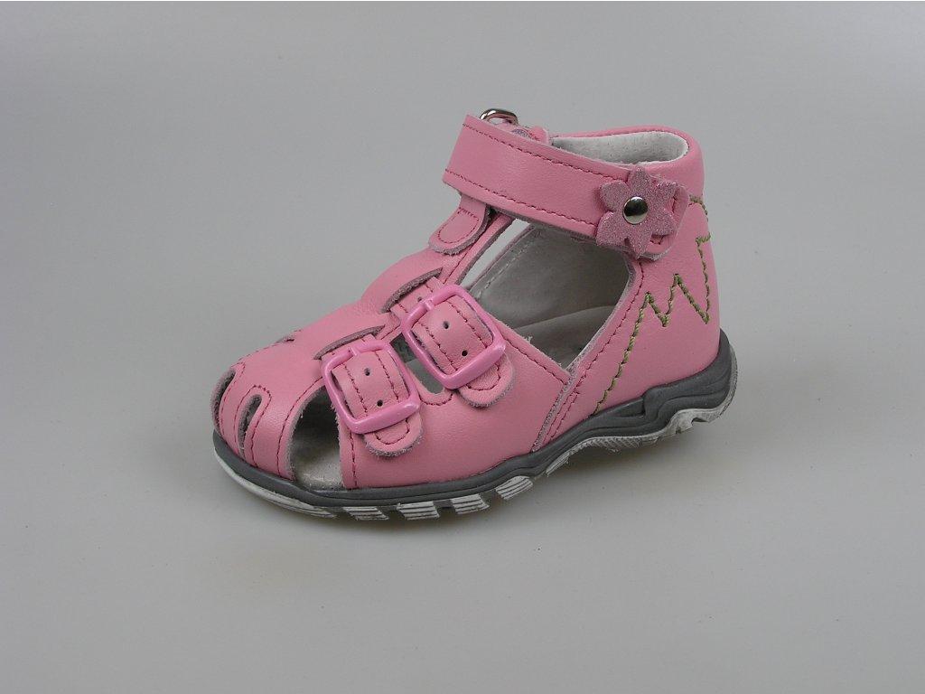 ESSI Sázavan Dětské sandále S3040 růžová