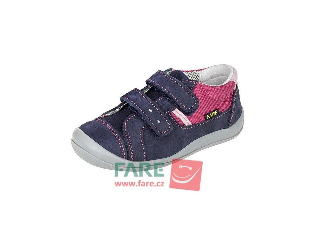 Fare 812203 dívčí celoroční kožené boty